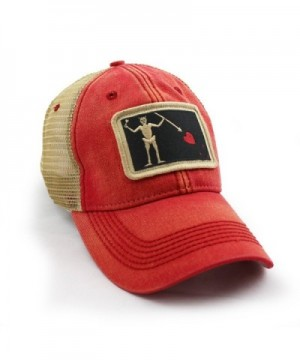 Blackbeard Pirate Flag Trucker Nautical in Men's Baseball Caps