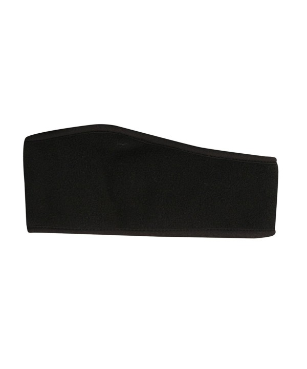 Dorfman Pacific Microfleece Solid Black Ear Headband - Black - CT111WAEE69