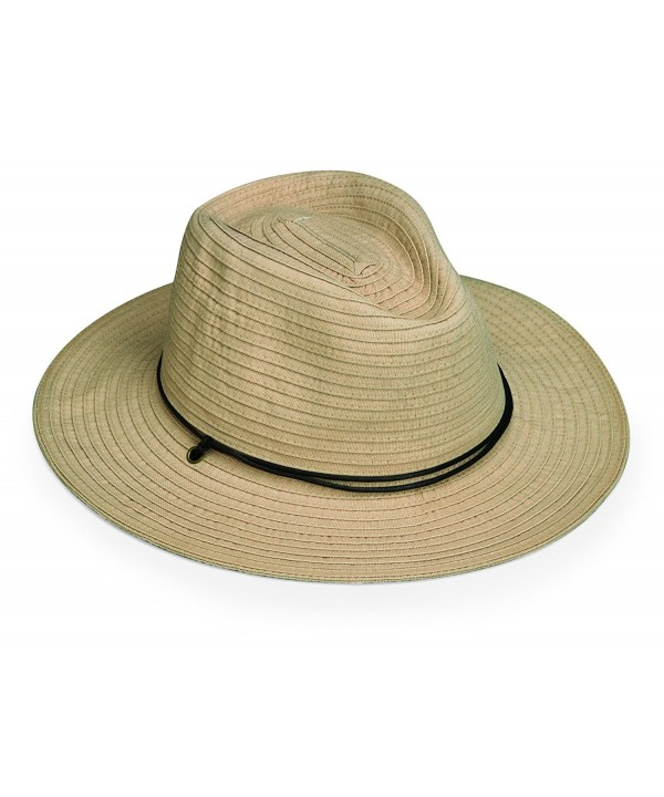 wallaroo Men's Jasper Sun Hat - UPF 50+ - Internal Adjustable Drawstring - Beige - CN129JXCEUJ
