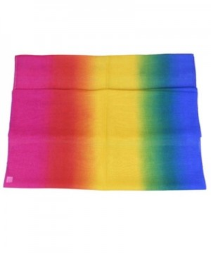 Aven Women Charming Georgette Rainbow