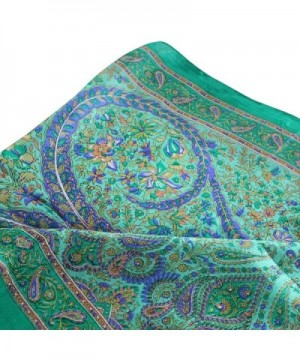 Fashionable Silk Scarf Indian Floral