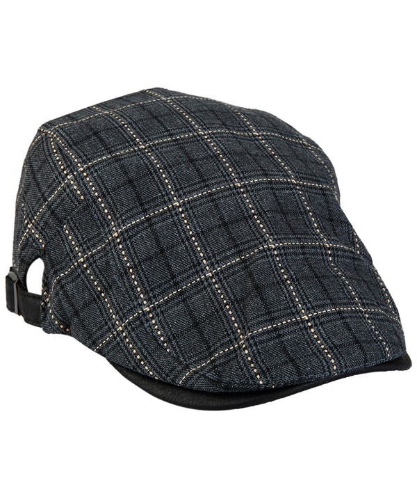 5186f50f70db moonsix newsboy Hats For Men-Plain Stripe Beret Cabbie Driving Gatsby Flat  Cap-Style