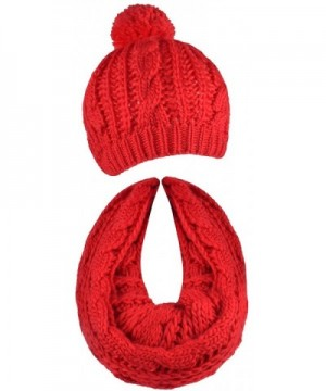 Scarf Cable Beanie Infinity Scarves