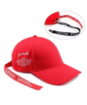 FURTALK Embroidery Caution Baseball Adjustable in Women's Baseball Caps