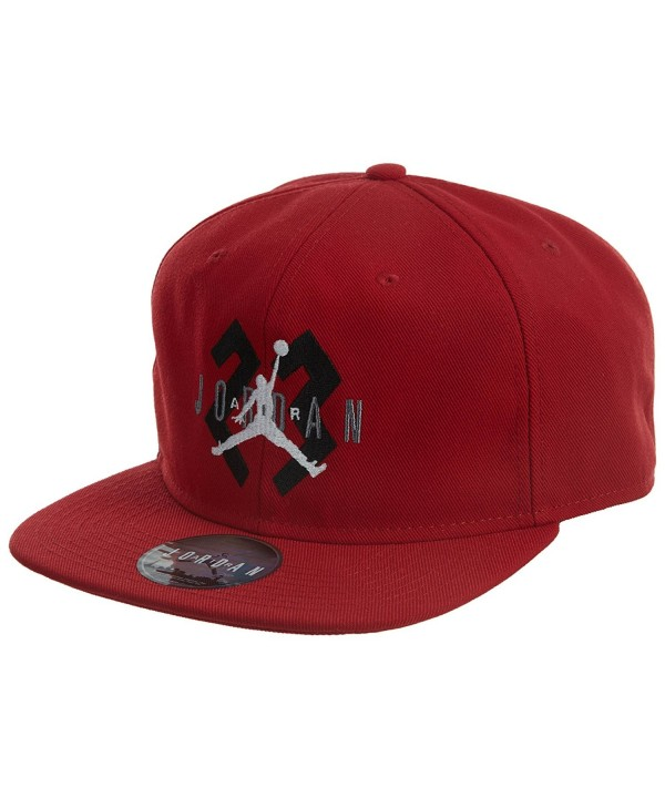 Jordan 6 Og Snapback Hat Unisex - Gym Red/Metallic Silver-white - CM11859AH5H