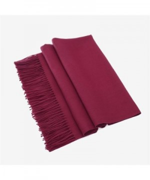 Large Silky Pashmina Fringes Colors in Fashion Scarves