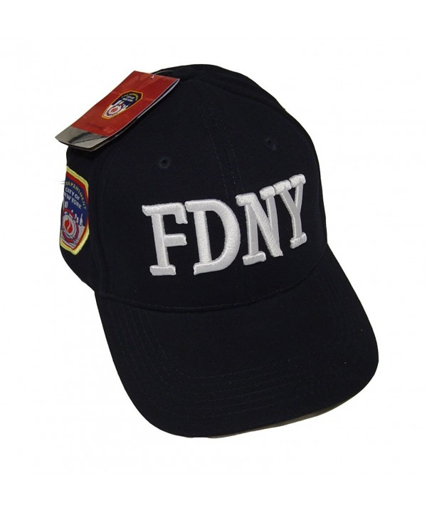 FDNY Baseball Cap Hat Officially Licensed by The New York City Fire Department - CS119075HSV
