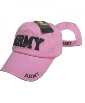 Ladies Pink U.S. Army Cap - CN1833YNCKE