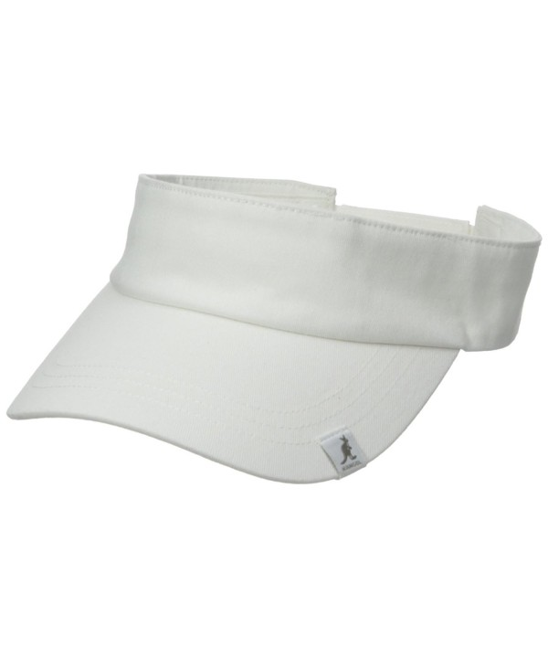 Kangol Men's Cotton Visor - White - CW12CGX6757