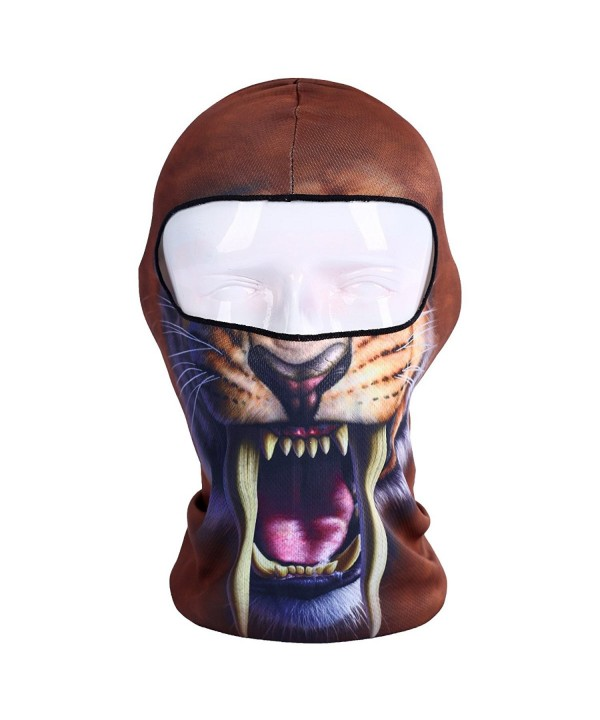 YASHALY Balaclava Ski Mask- Thin Breathable 3D Bandana Full Face Ninja Masks - Bb-02 - C9184SCXSNH