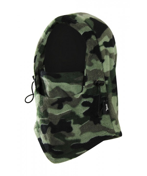 Multi-Functional Winter Windproof Balaclava Face Mask Hat- Thermal Fleece - Camouflage - CN12M8IM123