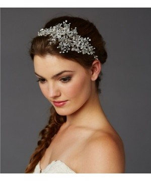 Mariell Couture Crystal Bridal Headpiece in  Women's Headbands in  Women's Hats & Caps