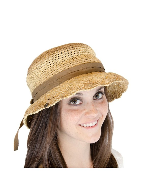 Peter Grimm Phoebe Sun Hat - Brown - CW11K3HBBQJ