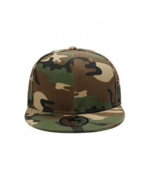 Plain Camo Army Fitted Baseball