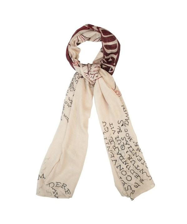 Harry Potter Marauder's Map Scarf - CH187LRA995