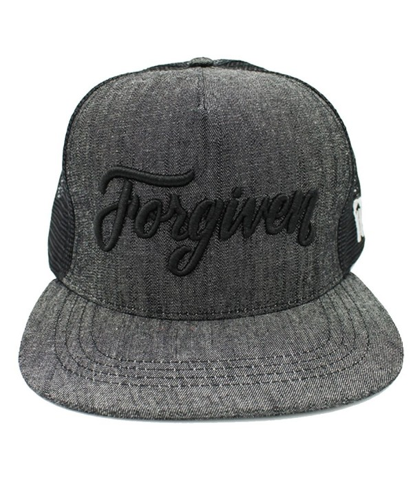 Forgiven trucker hat / snapback by Risen Apparel - CB185A995NI