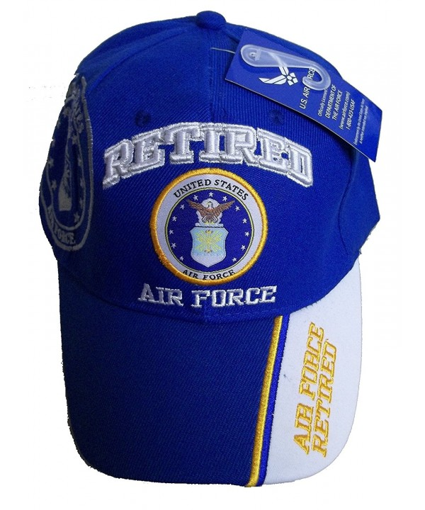 USA RETIRED AIR FORCE BASEBALL STYLE EMBROIDERED HAT ball cap vet us veteran - CL12OBTR7JT
