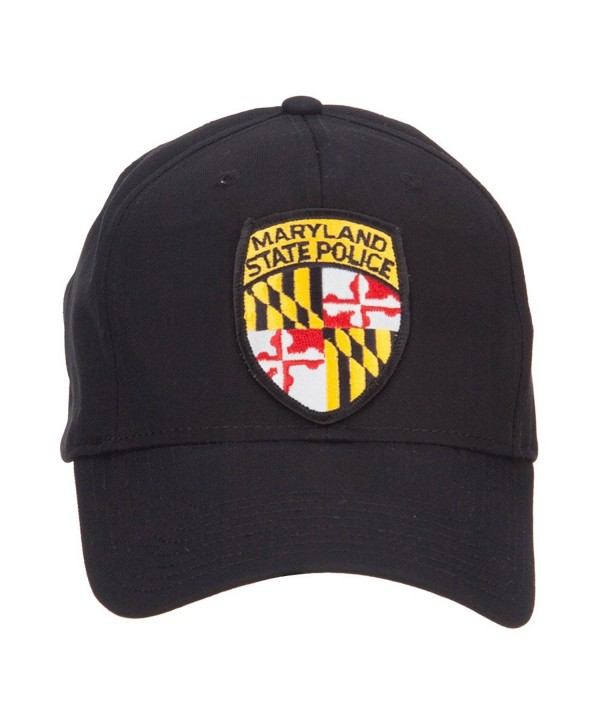 Maryland State Police Patched Cap - Black - CI124YMWNV5
