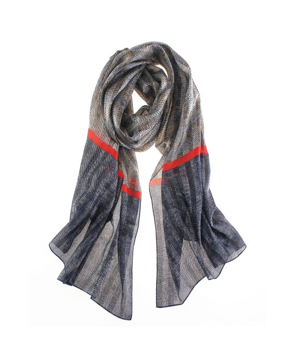 Soft Stylish Shawl Wrap-Lightweight Fabric PAJ Scarf by YS.AU-Brown-Large - CC180QK7DUG