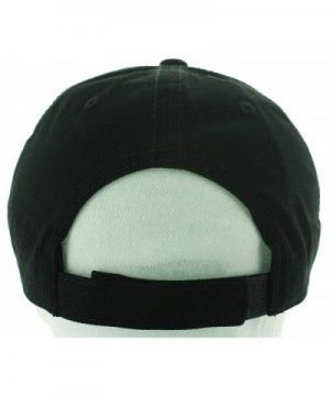 Henny Hat Dad Embroidered Black in Men's Baseball Caps