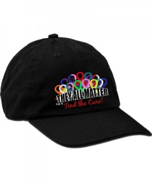 Fight Like a Girl They All Matter Embroidered Cap by - Black - CR128R9PMJB