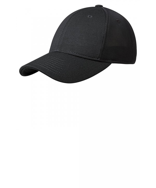 Port Authority Men's Pique Mesh Cap - Black/ Black - CP182OHS4UX