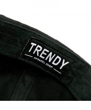 Trendy Apparel Shop Embroidered Snapback in Men's Baseball Caps