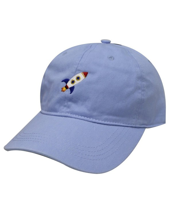 City Hunter C104 Rocket Cotton Baseball Dad Caps 17 Colors - Sky - CO12O5LO5WY