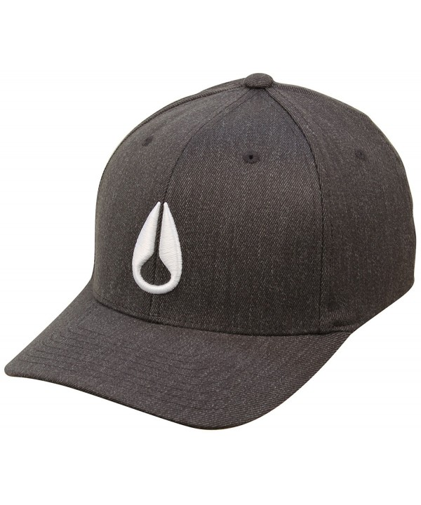 Nixon Deep Down Hat - Black Heather / White - C711I3NYDS3