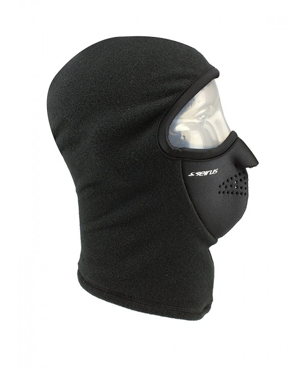 Seirus Innovation 8039 Cold Weather Balaclava - Face Mask Head and Neck Protection - Black - CI1129CM2VT