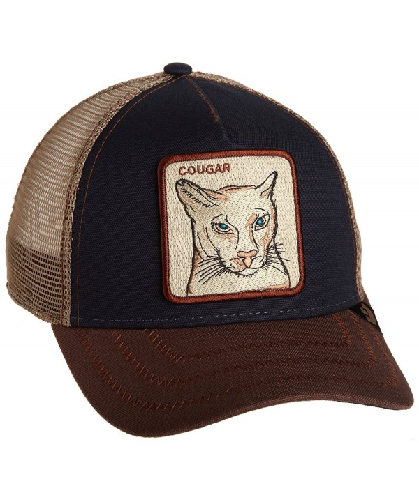 Goorin Borthers Women's Animal Farm Snap Back Trucker Hat - Navy Cougar - CU1148Q30BZ