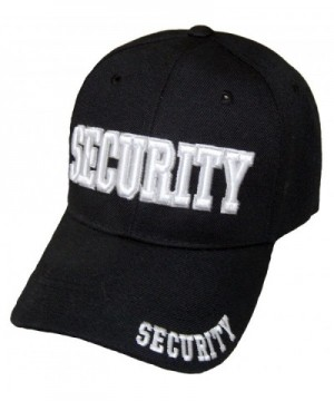 SECURITY GUARD OFFICER CAP EMBROIDERED BASEBALL CAP - C3187G0ZXWI