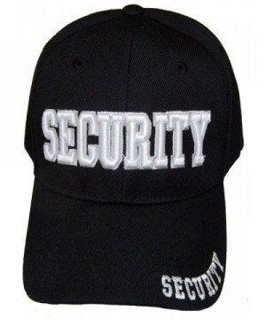 SECURITY GUARD OFFICER EMBROIDERED BASEBALL