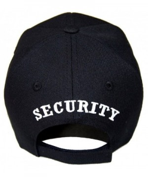 SECURITY GUARD OFFICER EMBROIDERED BASEBALL in Men's Baseball Caps