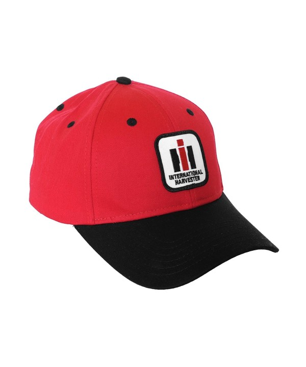 International Harvester IH Logo Hat- Red and Black - CP1274JIENL