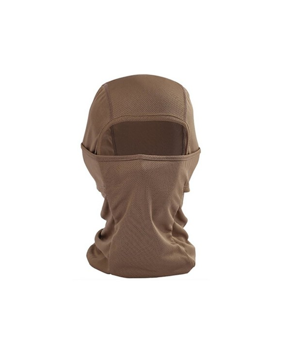 TopTie Breathable Unisex Face Mask Balaclava For Cycling Tactical Sport - Coffee - CY12FG7BUAV