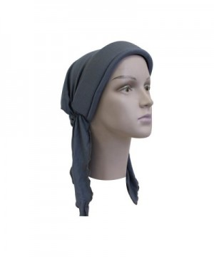 Grey Tied Scarf Added Height