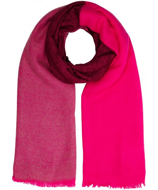Joules Women's Berkley Mid Sized Warm Handle Wrap Scarf - True Pink - CH12G5DUV33