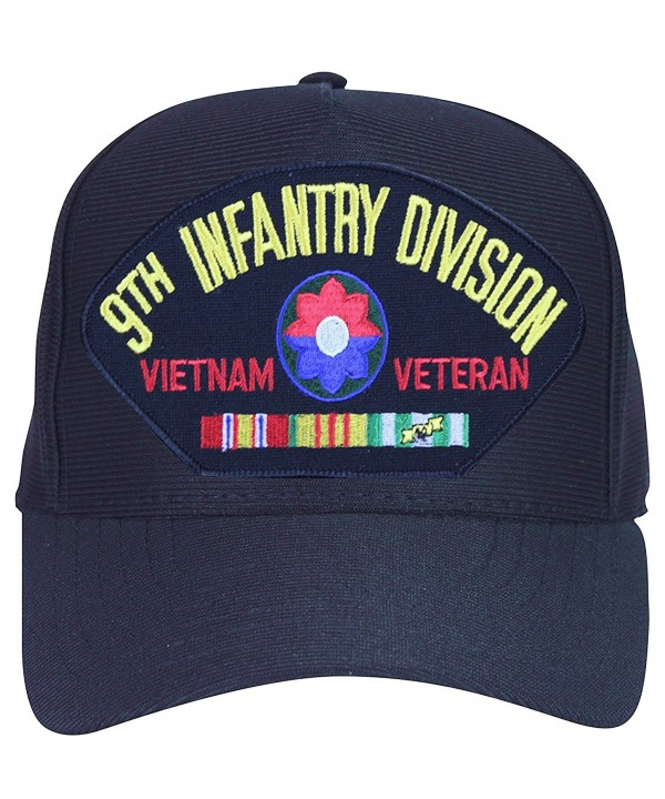 9th Infantry Division Vietnam Veteran Baseball Cap. Black. Made in USA - CY17WWQTHN7