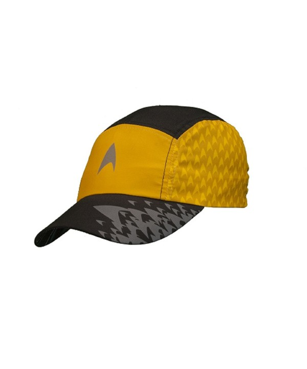Star Trek Running Hat - Gold - C911LFJHX7P