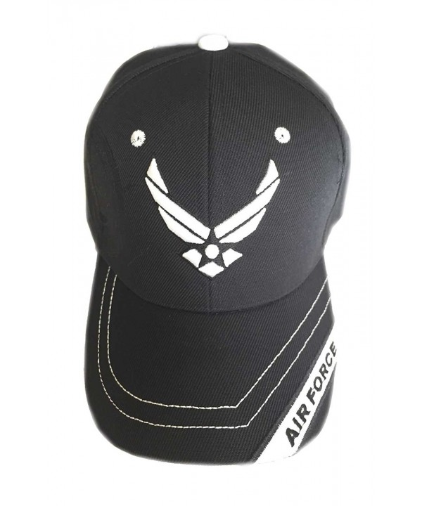 Aesthetinc U.S. Military Air Force Cap Officially Licensed Sealed - Black 1 - CY11XT2TBS5