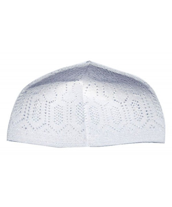 White One-size Turkish Muslim Islamic Kufi Hat Taqiya Takke Peci Skull Cap - CQ116TV8TF9