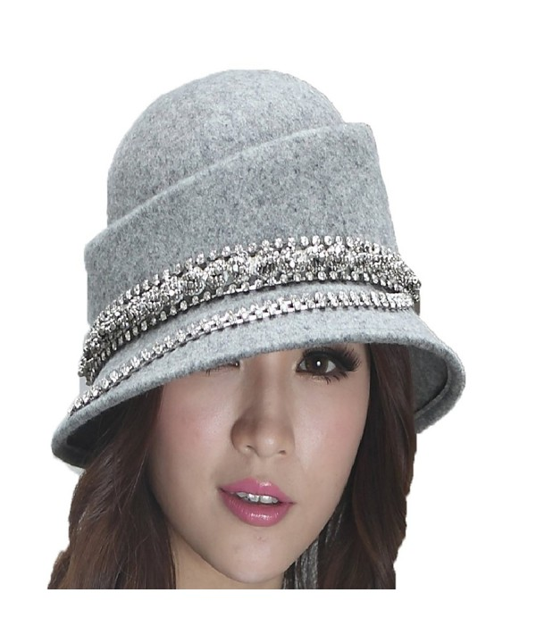 June's Young Fashion Winter Hat Wool Hats for Women Dome Hat New Style - CJ11HNG80ET