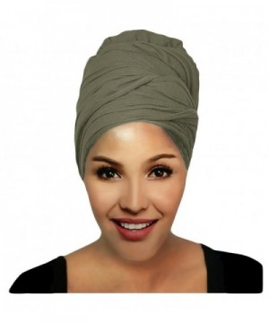Hanas Womens Stretch Turban Jersey