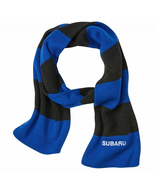 SUBARU Official Rugby Striped Scarf Wrx Sti Racing Impreza Genuine Forester Outack - CZ185YKKORT