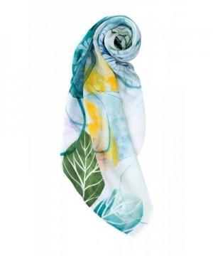 Womens Floral Graphic Nature Pattern in Fashion Scarves