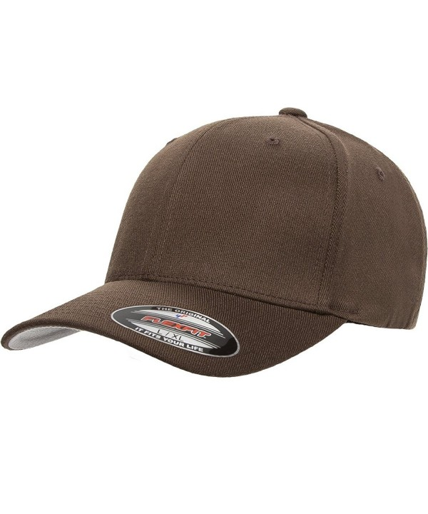 Flexfit - Wool Blend Cap - 6477 - Brown - C911NW6IP67