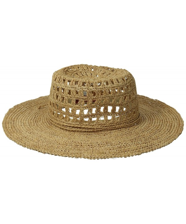 San Diego Hat Company Women's Floppy Straw Hat - Natural - CO116AW3NHP