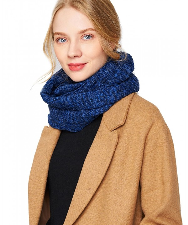 EUPHIE YING Women Men Thick Winter Infinity Circle Loop Scarf- Warm and Soft - Blue - CB1867W8223