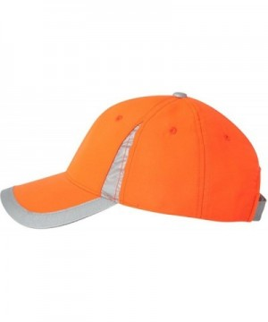 Outdoor Cap SAF100 - Safety V Crown Cap - Safety Orange - CH11CYPQ1OP